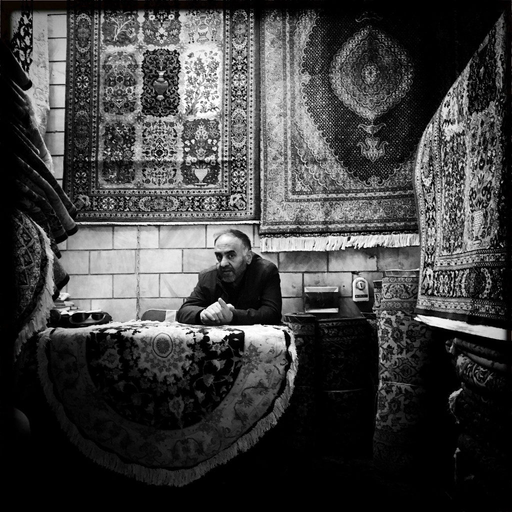 Carpet seller in the Grand Bazaar