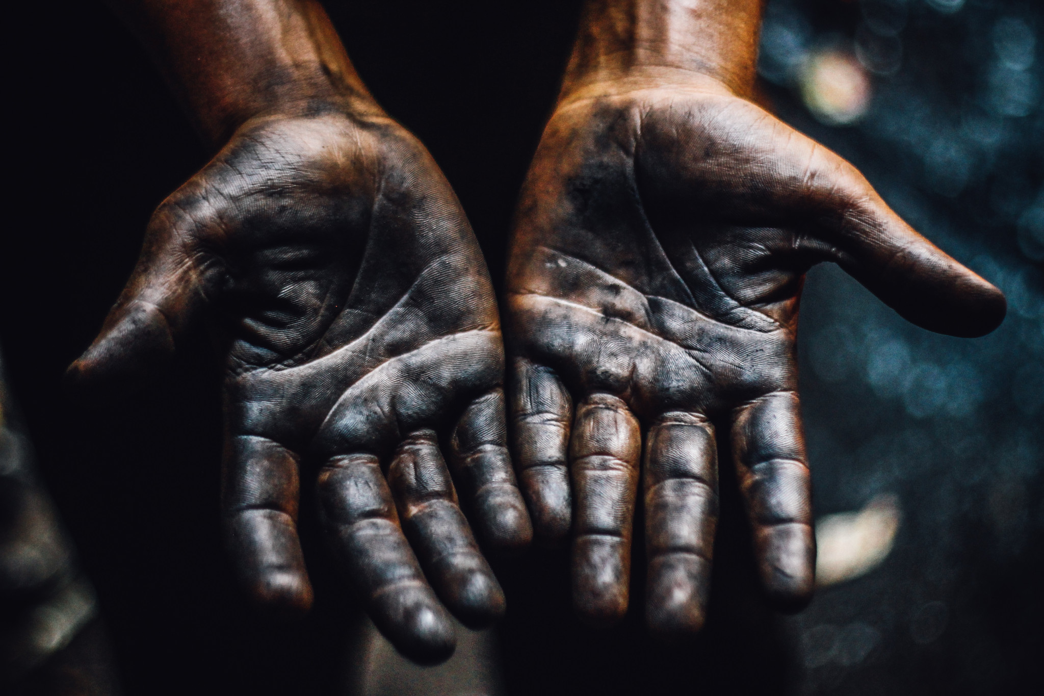 Hands Of Blacksmith