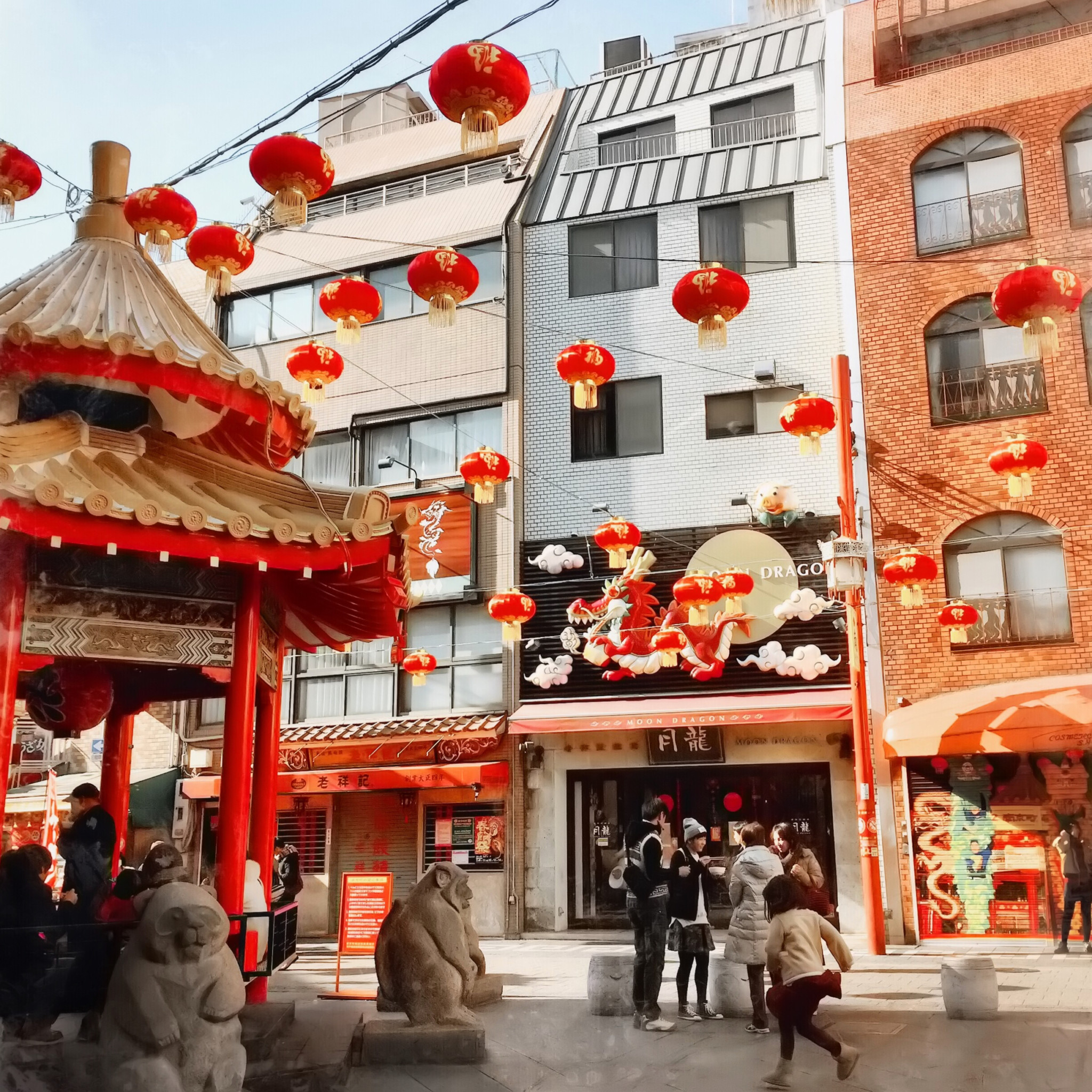New Year's Eve in Chinatown (Kobe, Japan)