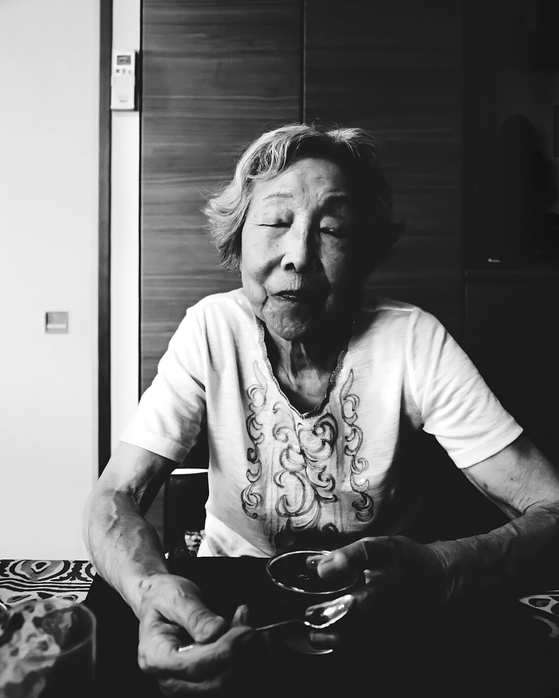 Portrait of my 91-year-old Grandmother